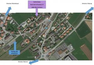 Plan de location à Villaz-St-Pierre